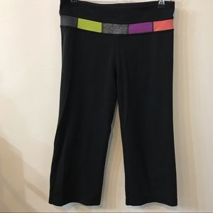 Lululemon Reversible Wide Leg Capri Pants